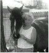 Debbie and Filly